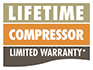 Lifetime Compressor Limited Warranty*